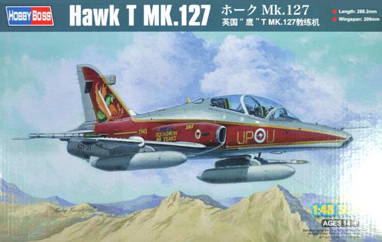 ホーク Mk.127プラモデル(ホビーボス1/48 エアクラフト プラモデルNo.81736)商品画像