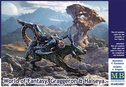 グラゲロン & ハルセーヤープラモデル(マスターボックスワールド オブ ファンタジー (World of Fantasy)No.MB24007)商品画像