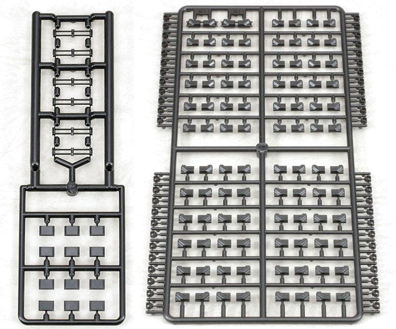 M4 シャーマン HVSS T84 連結可動キャタピラセットプラモデル(ラウペンモデル連結可動キャタピラNo.35-010)商品画像_1
