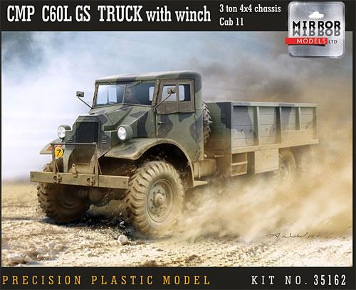 CMP シボレー C60L GS トラック 11番キャブ ウィンチ付きプラモデル(ミラーモデルズ1/35 AFVモデルNo.35162)商品画像