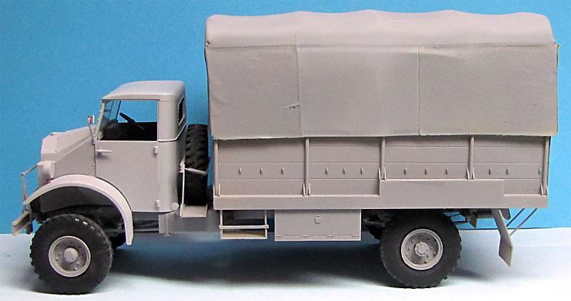 CMP シボレー C60L GS トラック 11番キャブ ウィンチ付きプラモデル(ミラーモデルズ1/35 AFVモデルNo.35162)商品画像_2
