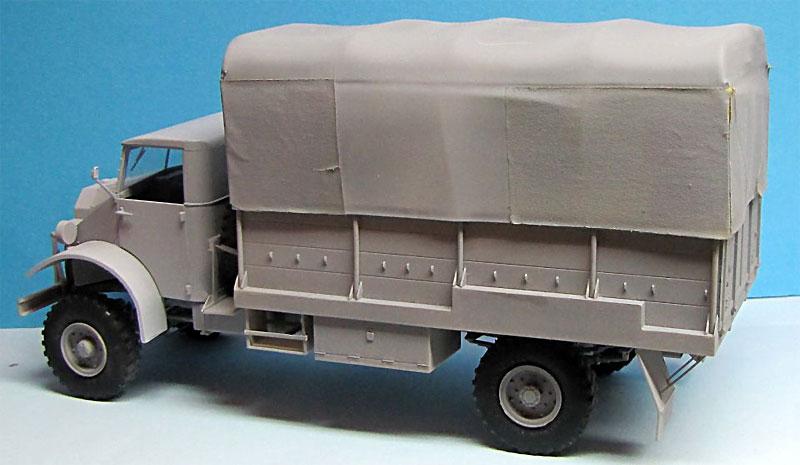 CMP シボレー C60L GS トラック 11番キャブ ウィンチ付きプラモデル(ミラーモデルズ1/35 AFVモデルNo.35162)商品画像_3