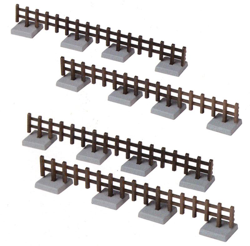 柵 2 -木製の鉄路柵-プラモデル(トミーテック情景コレクション 情景小物シリーズNo.031-2)商品画像_1