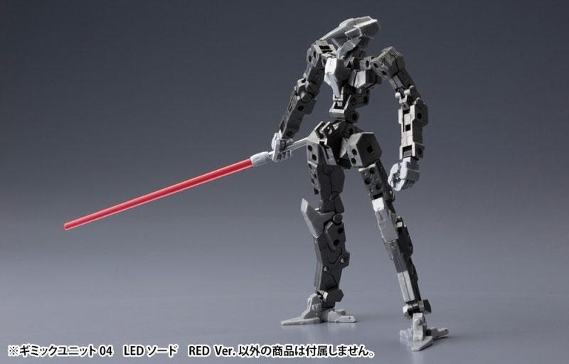 LEDソード RED Ver.プラモデル(コトブキヤギミックユニットNo.MG004)商品画像_4
