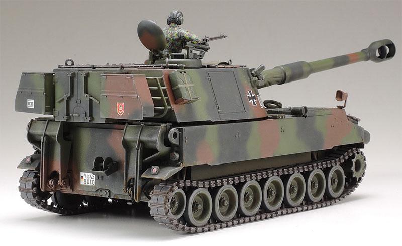 ドイツ連邦軍 M109A3G 自走砲プラモデル(タミヤタミヤ イタレリ シリーズNo.37022)商品画像_2