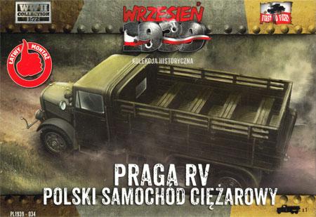 ポーランド プラガ RV 六輪トラックプラモデル(FTF1/72 AFVNo.PL1939-034)商品画像