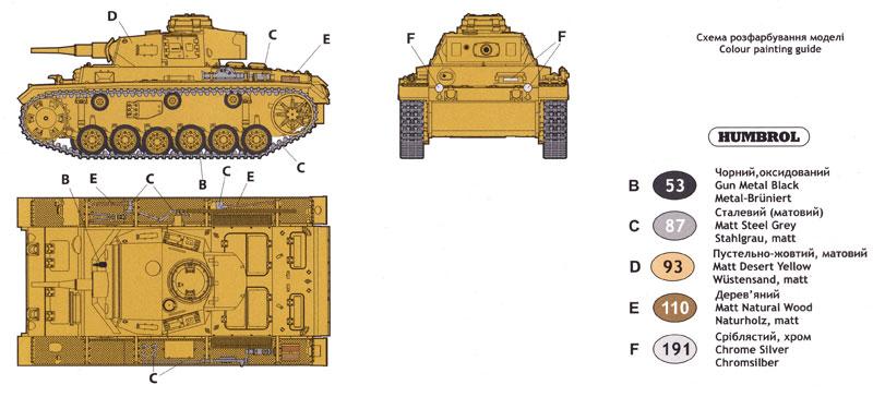 ドイツ 3号戦車 J型プラモデル(ユニモデル1/72 AFVキットNo.271)商品画像_1