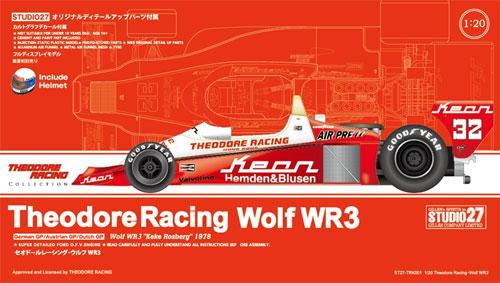 セオドールレーシング ウルフ WR3プラモデル(スタジオ27セオドールレーシングコレクションNo.TRK001)商品画像