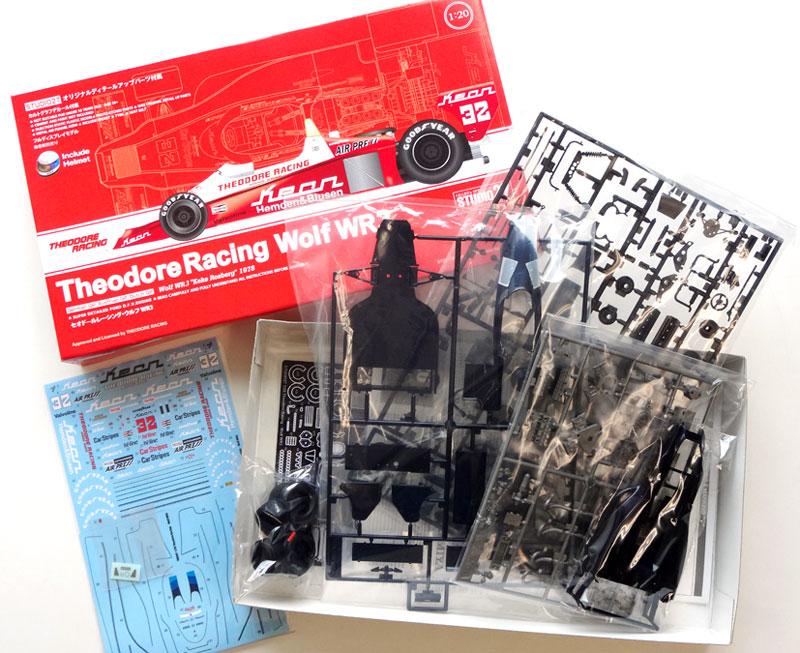 セオドールレーシング ウルフ WR3プラモデル(スタジオ27セオドールレーシングコレクションNo.TRK001)商品画像_1