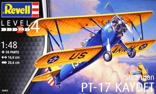 ステアマン PT-17 ケイデットプラモデル(レベル1/48 飛行機モデルNo.03957)商品画像