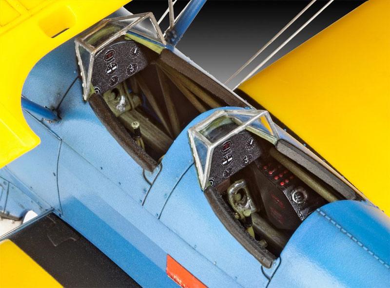 ステアマン PT-17 ケイデットプラモデル(レベル1/48 飛行機モデルNo.03957)商品画像_2