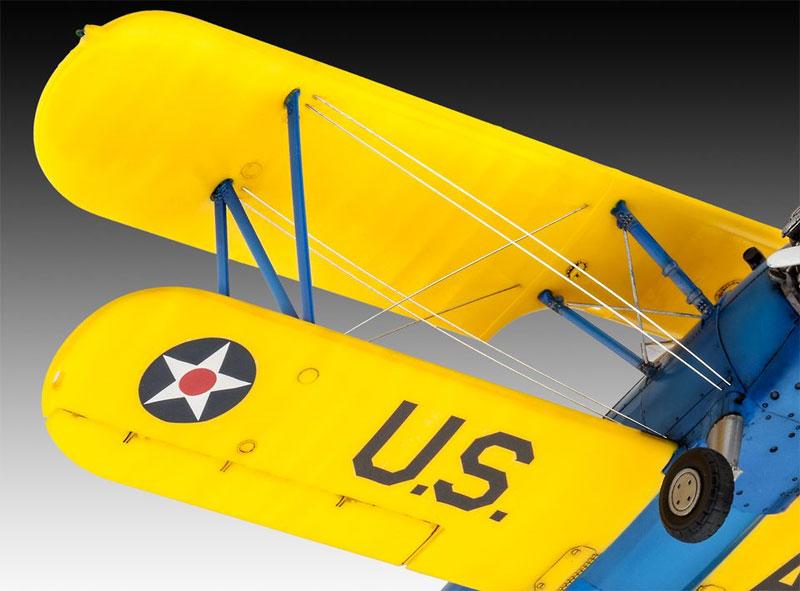 ステアマン PT-17 ケイデットプラモデル(レベル1/48 飛行機モデルNo.03957)商品画像_3