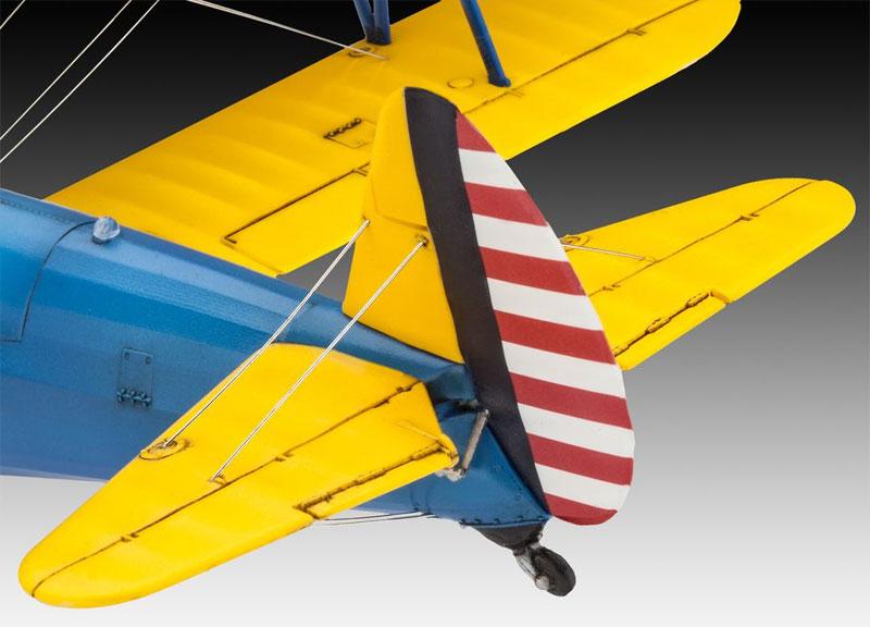 ステアマン PT-17 ケイデットプラモデル(レベル1/48 飛行機モデルNo.03957)商品画像_4
