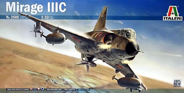 ミラージュ 3Cプラモデル(イタレリ1/32 飛行機No.2505)商品画像