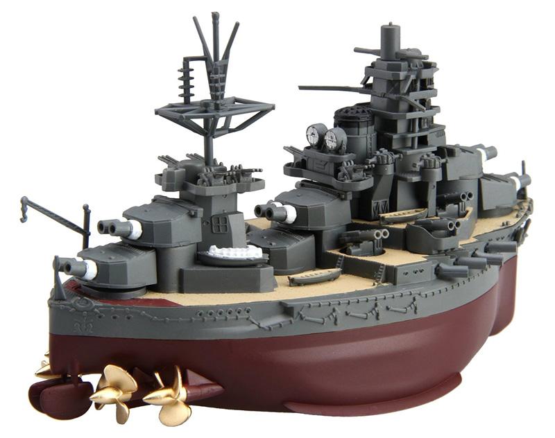 ちび丸艦隊 戦艦 日向プラモデル(フジミちび丸艦隊 シリーズNo.ちび丸-020)商品画像_2