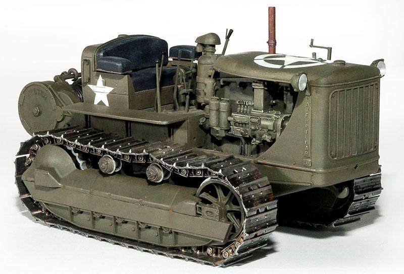 アメリカ トラクター w/牽引ウインチプラモデル(ミニアート1/35 WW2 ミリタリーミニチュアNo.35225)商品画像_2