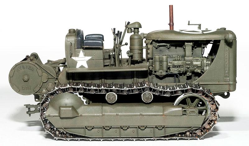 アメリカ トラクター w/牽引ウインチプラモデル(ミニアート1/35 WW2 ミリタリーミニチュアNo.35225)商品画像_3