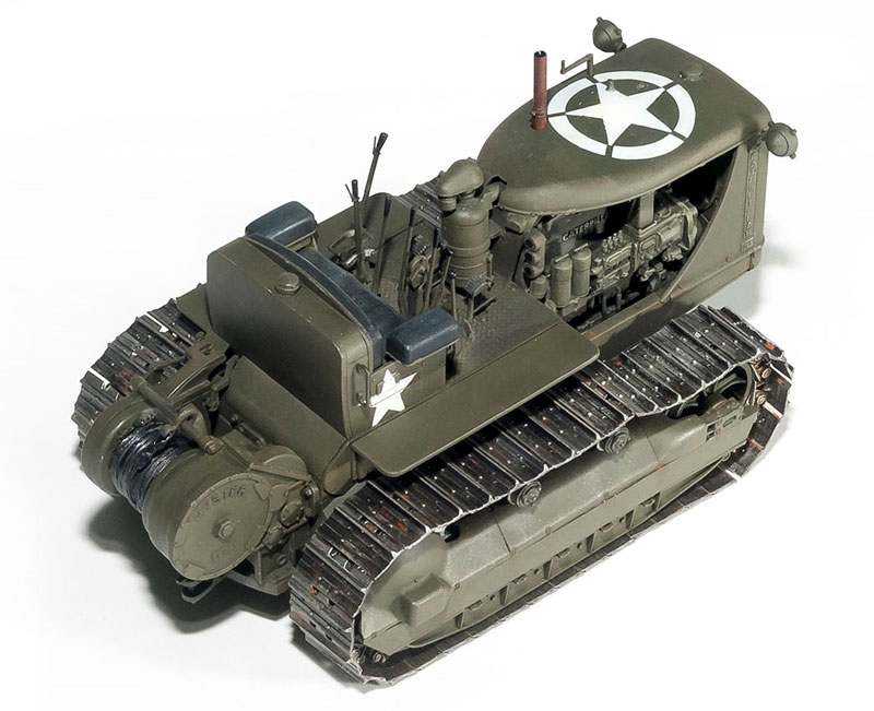 アメリカ トラクター w/牽引ウインチプラモデル(ミニアート1/35 WW2 ミリタリーミニチュアNo.35225)商品画像_4