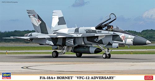 F/A-18A+ ホーネット VFC-12 アドバーサリープラモデル(ハセガワ1/72 飛行機 限定生産No.02202)商品画像