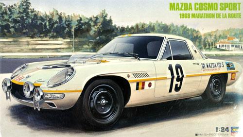マツダ コスモ スポーツ (1968) マラソン・デ・ラ・ルートプラモデル(ハセガワ1/24 自動車 限定生産No.20274)商品画像
