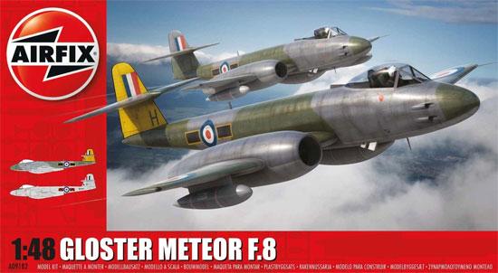 グロスター ミーティア F.8プラモデル(エアフィックス1/48 ミリタリーエアクラフトNo.A09182)商品画像