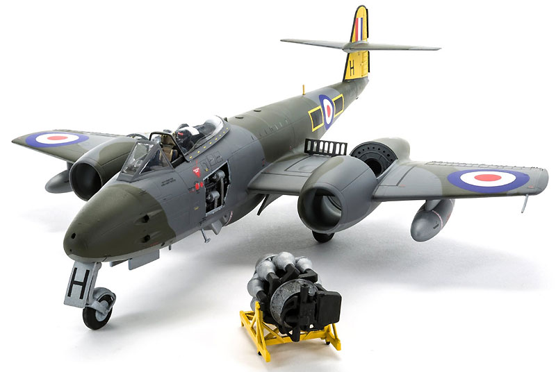 グロスター ミーティア F.8プラモデル(エアフィックス1/48 ミリタリーエアクラフトNo.A09182)商品画像_1