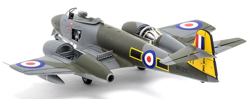 グロスター ミーティア F.8プラモデル(エアフィックス1/48 ミリタリーエアクラフトNo.A09182)商品画像_2