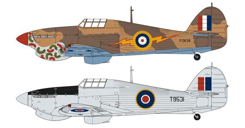 ホーカー ハリケーン Mk.1 トロピカルプラモデル(エアフィックス1/48 ミリタリーエアクラフトNo.A05129)商品画像_1