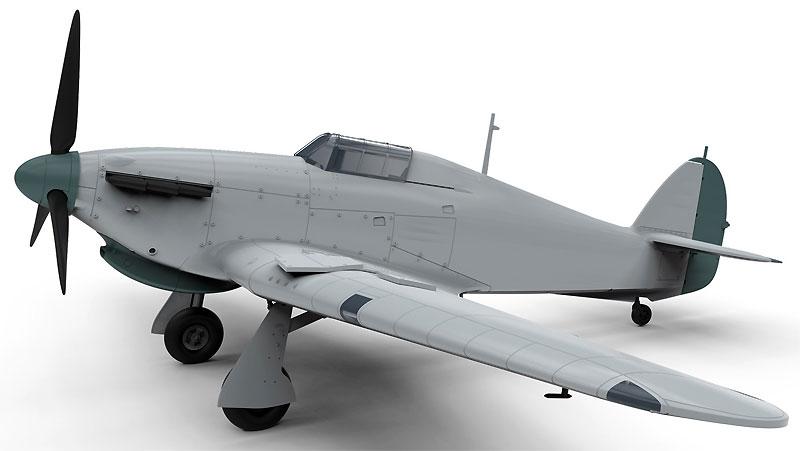 ホーカー ハリケーン Mk.1 トロピカルプラモデル(エアフィックス1/48 ミリタリーエアクラフトNo.A05129)商品画像_2