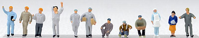 工場の人々完成品(トミーテック情景コレクション ザ・人間シリーズNo.110)商品画像_1