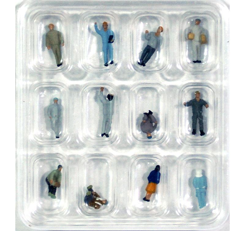 工場の人々完成品(トミーテック情景コレクション ザ・人間シリーズNo.110)商品画像_2