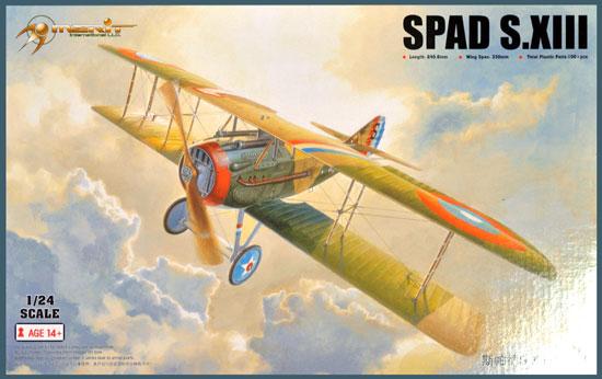 スパッド S.13プラモデル(メリットインターナショナル1/24 飛行機No.62401)商品画像