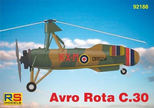 アブロ ロータ C.30Aプラモデル(RSモデル1/72 エアクラフト プラモデルNo.92188)商品画像
