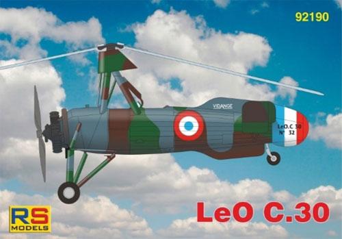 リオレ・エ・オリビエ LeO C.30プラモデル(RSモデル1/72 エアクラフト プラモデルNo.92190)商品画像