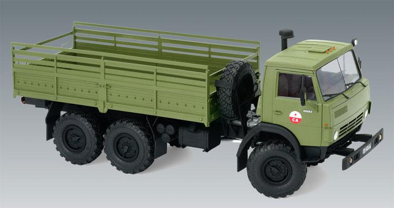 ソビエト 6輪 アーミートラックプラモデル(ICM1/35 ミリタリービークル・フィギュアNo.35001)商品画像_2