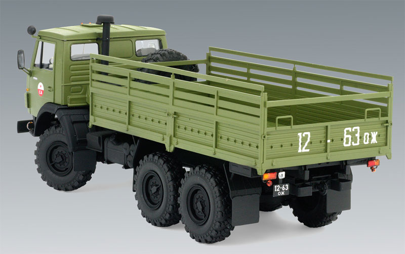 ソビエト 6輪 アーミートラックプラモデル(ICM1/35 ミリタリービークル・フィギュアNo.35001)商品画像_3
