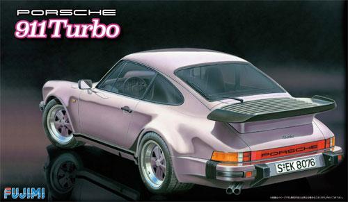 ポルシェ 911 ターボプラモデル(フジミ1/24 リアルスポーツカー シリーズNo.057)商品画像
