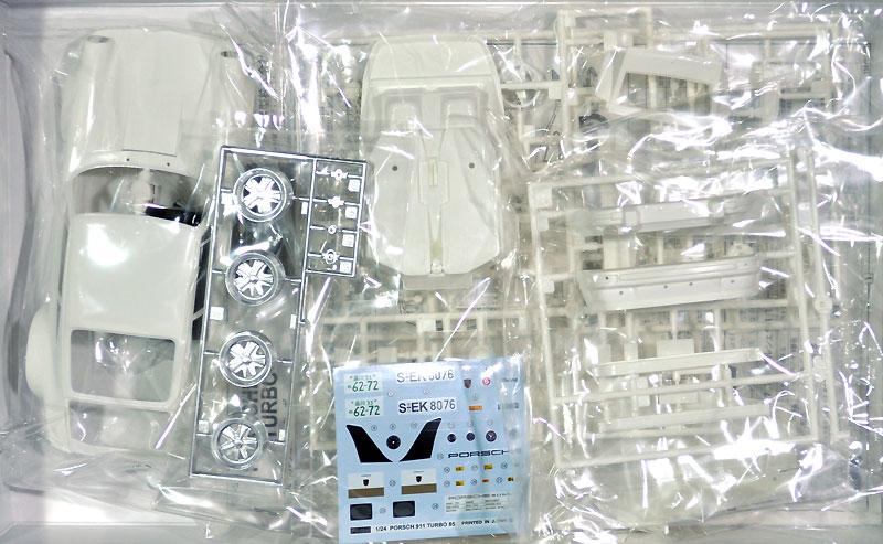 ポルシェ 911 ターボプラモデル(フジミ1/24 リアルスポーツカー シリーズNo.057)商品画像_1