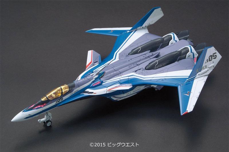VF-31J ジークフリード ハヤテ・インメルマン機プラモデル(バンダイマクロスΔ (マクロスデルタ)No.001)商品画像_2