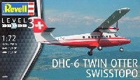 レベル1/72 飛行機DHC-6 ツインオター SWISSTOPO