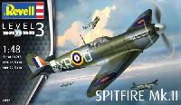 レベル1/48 飛行機モデルスピットファイア Mk.2
