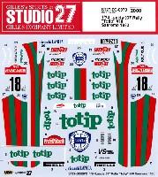 スタジオ27ラリーカー オリジナルデカールランチア 037 ラリー Totip #18 サンレモ 1983 デカール