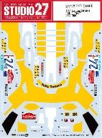 スタジオ27ラリーカー オリジナルデカールランチア ストラトス オリオ・フィアット #24 1980 デカール