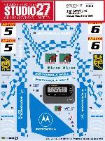 スタジオ27ツーリングカー/GTカー オリジナルデカールBMW 318i モトローラ マカオ ギア・レース 1994 デカール