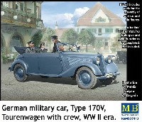 ドイツ 軍用乗用車 170V ツーリングワゴン w/クルー