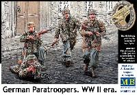 マスターボックス1/35 ミリタリーミニチュアWW2 ドイツ 降下猟兵 (WW2 初期)