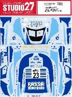 スタジオ27ツーリングカー/GTカー オリジナルデカールマクラーレン MP4-12C レーシングスタジオ #23 イタリアン GT 2015