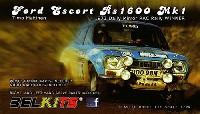 BELKITS1/24 PLASTIC KITSフォード エスコート RS1600 Mk1 ティモ・マキネン