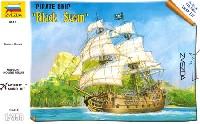 ズベズダ1/350 艦船モデル海賊船 ブラックスワン号