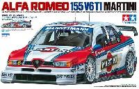 タミヤ1/24 スポーツカーシリーズアルファロメオ 155 V6 TI マルティーニ